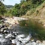 View of the Pacora River bathing hole
