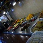 Salad/Dessert table