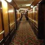 View down hallway