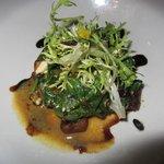 Gnocci w/ sauteed Spinach