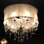 Upstairs chandelier...so pretty