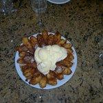 Viva el gordo (banana, canela, caramelo y helado de vainilla)
