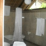 Main bathroom, there were 2 Villa H