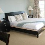 Generous bed