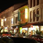 Fassade Mosque Street