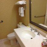 Bathroom, always very clean