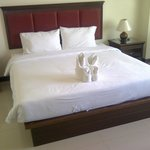 King-size bed in Superior room