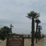 Mare d'inverno : la spiaggia  Le Palme  (Riccione )
