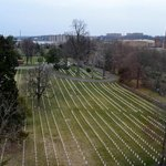 Alexandria National Cemetery from hotel