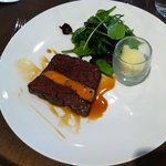 Pressé de boeuf et foie gras
