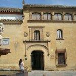 Entrada museo Julio Romero de Torres