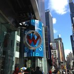 Sign from Times Square