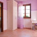 camera lilla con bagno