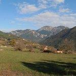 Vista desde el camino del hotel a Sant Llorenç