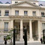 Front entrance - Palace side