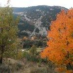 Vista desde la carretera a Tuixent