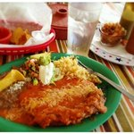 Chile Rellenos at Tacos & More!