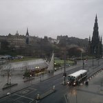 View of Princes St from the room