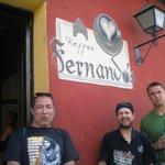 With Fernando.