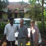 Ready to leave with driver Anil Kumur (Keralataxi.com)