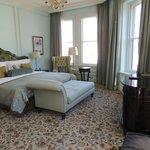 Bedroom part of suite