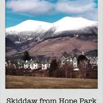 Skiddaw from Hope Park
