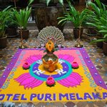 Hotel Puri lobby