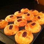 Fresh Pecan Maple Muffins
