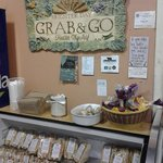 Grab and go tasty fresh sandwiches from the deli!