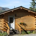 One of the spectacular log cabins available