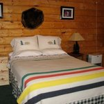 Cabins are well-appointed and inviting