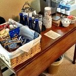 Complimentary Butler's Pantry with snacks, coffee, tea, etc.