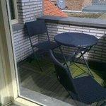 balcony at room 17
