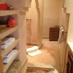 il bagno in stile marocchino