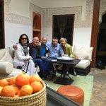 Noi con i simpatici Guido e Mikael, perfetti padroni di casa!