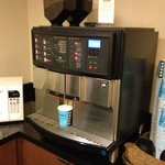 Magic coffee machine - Kids LOVED the steamed milk option.