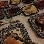 Marokkanische Salate und Pastilla Fassia
