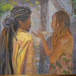 Rani Carson Painting...by way of Jamaica