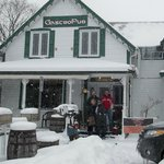 The Dam Pub In The Snow