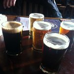 Olde Stone Sampler - the perfect way to try all of their house ales.