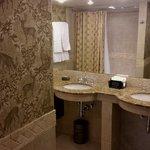Exec suite bath