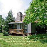 One of 4 deluxe lakefront cabins