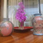 Clay pots/vases for sale each day make great gifts.  Bought 3!