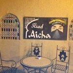 Terra exterior Riad Aicha