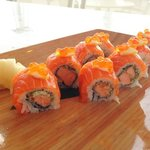 lemon salmon roll