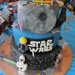 Star Wars cake for my little boy