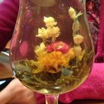 Fantastic Jasmine tea which looked and tasted great