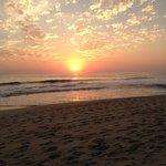 Sunset on Playa Zicatela