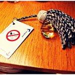 Charming room keys.