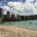 Waikiki beach!
